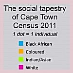 key for Cape Town census 2011 map