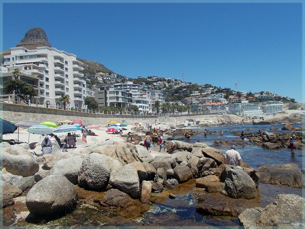 Saunders Beach on Cape Town Atlantic Seaboard