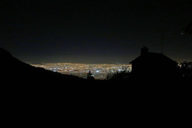 Cape Town at night from Table Mountain