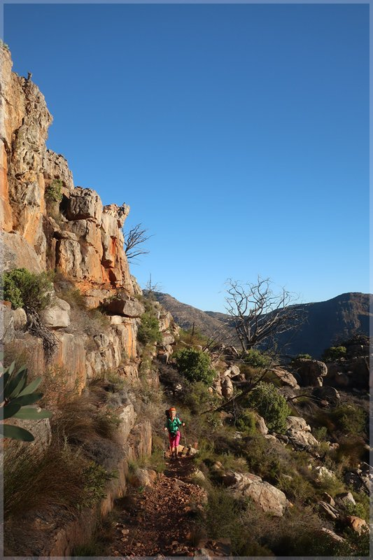 Hiking up To Middleberg Hut, Cederberg