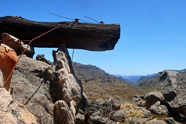 old timber hauling infrastructure in cederberg