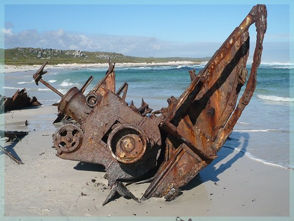 Shipwreck of the Nolloth, Cape of Good Hope Reserve